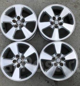 Литье диски оригинал Toyota 5x100 R15