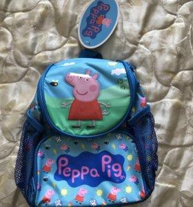 Новый детский рюкзак Свинка Пеппа