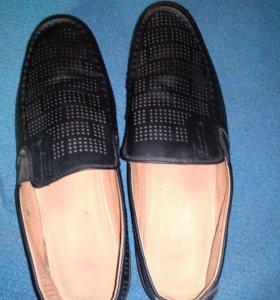 Туфли класические чёрные мужские