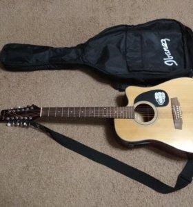 Электроакустическая гитара Martinez FAW-802-12CEQ