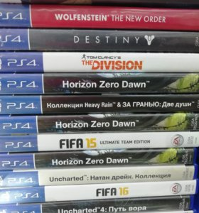 Игры на PlayStation 4