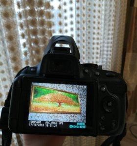 Зеркальная фотокамера Nikon D5200