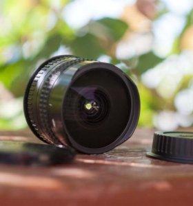 Объектив zenitar 16mm 2.8
