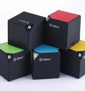 Bluetooth колонка Zetton Cube новая