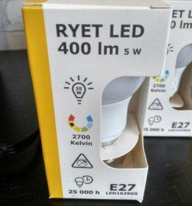 Лампочки светодиодные RYET Е27 10 штук