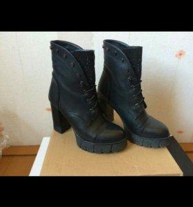 Ботильоны 👟 ботинки 👠 кожа