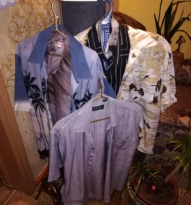 Рубашки мужские 48-50 размера