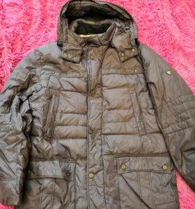 Куртка муж. зимняя на пуху р. 54-56