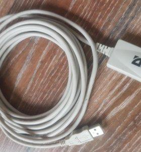 активный USB удлинитель 5м