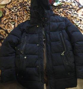 Зимняя куртка мужская 48размер