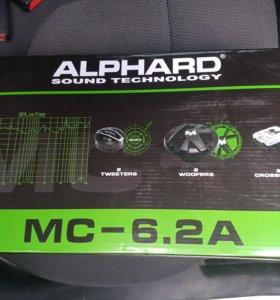 Двухкомпонентная акустическая система Machete MC-6