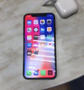 Apple IPhone X 256gb grey