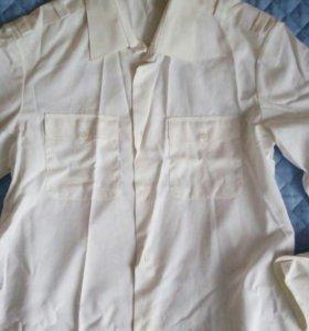 2 форменных рубашки (новые)