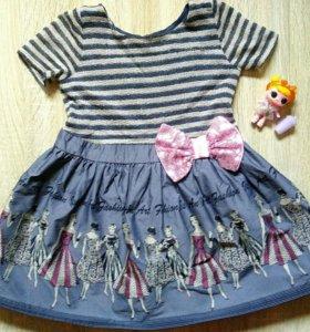 Платье на девочку нарядное р.104