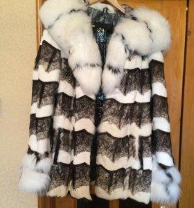 Новая куртка с поясом