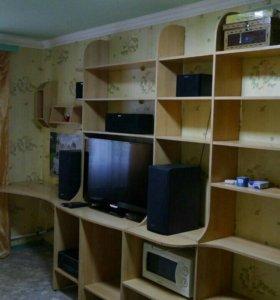 Мебельная стенка, горка, стеллаж