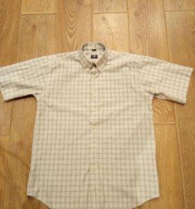 Мужская рубашка 48-50 р-р. ( см замеры)