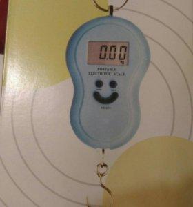 Новые весы-безмен электронные
