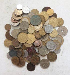 100 иностранных монет