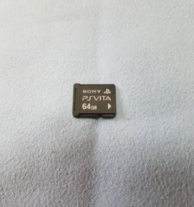 PS Vita карта памяти 64GB