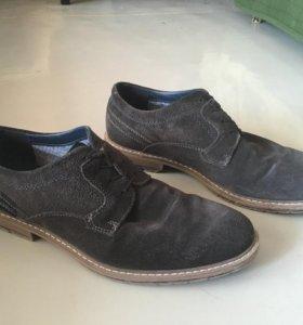 Замшевые туфли (Made in Germany)