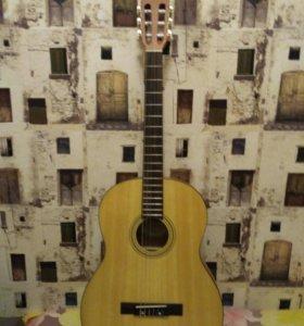 Гитара Fender ESC105 классическая + чехол