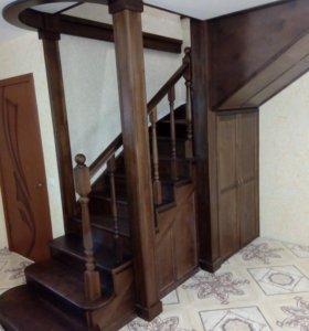 Услуги столяра-плотника. Изготовление лестниц