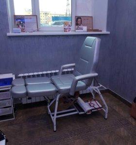 Педикюрное кресло-кушетка