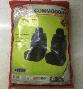Чехлы-майки на передние сиденья COMMODORE
