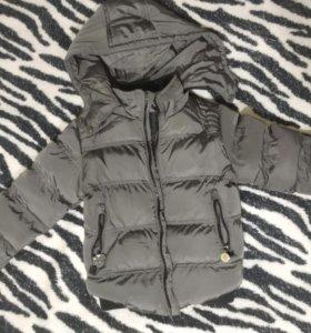 Зимняя куртка в хорошем состоянии