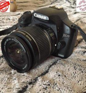 Canon EOS 500d Kit 18-55mm (зеркалка, гарантия)