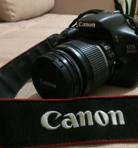 Canon 550d kit + 50mm f/1.8