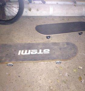 Скейтборд поменьше