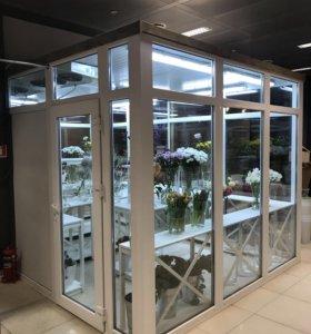 Холодильник для хранения срезанных цветов