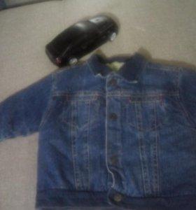 курточка для мольчика на очине