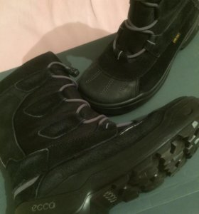 Ботинки зимние,Ecco