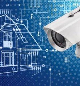 Установка и монтаж видеонаблюдения систем контроля