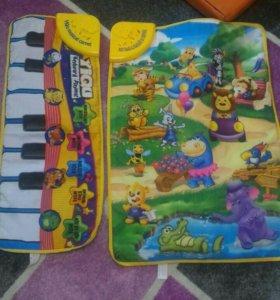Музыкальные коврики для малышей