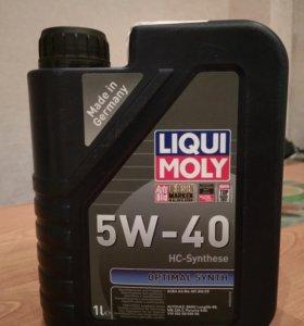 Масло моторное liqui moli 5w-40 1 литр