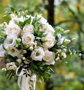 Букет невесты, свадебный декор