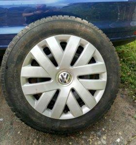 Зимние колеса от VW Polo 4шт.
