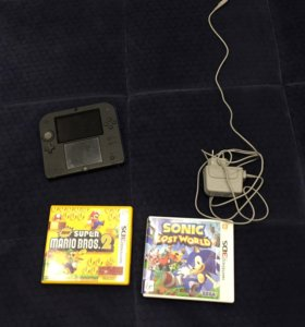 Nintendo 2ds полный комплект + пару игр