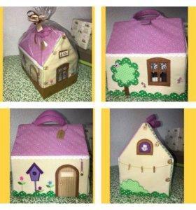 Кукольный домик-сумочка