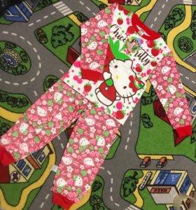 Пижама с начесом новая