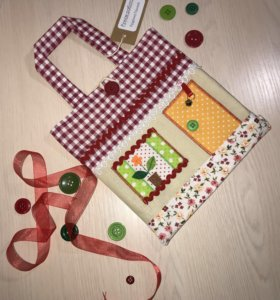 Детская текстильная сумочка