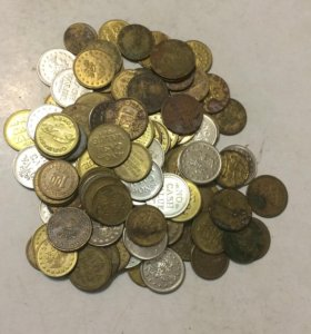 100 иностранных жетонов