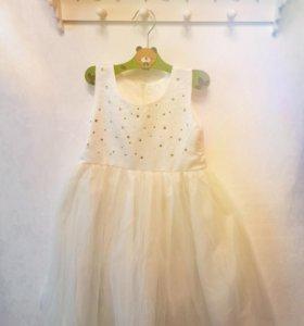 Нарядное пышное платье 92-104