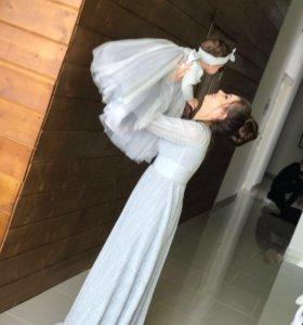 Платье ( мама / дочка )