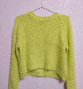 укороченный свитер, topshop