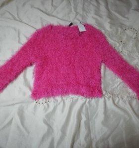 Новый Пушистый свитер H&M